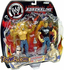 WWE Jakks Pacific Wrestling Adrenaline Series 7 Action Figure 2-Pack Test & Scott Steiner