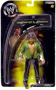 WWE Jakks Pacific Wrestling Action Figures Backlash PPV Al Snow