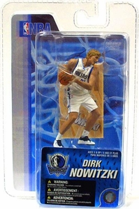 McFarlane Toys NBA 3 Inch Sports Picks Series 4 Mini Figure Dirk Nowitzki (Dallas Mavericks)