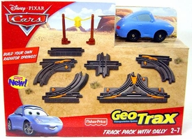 Disney Pixar Cars GeoTrax Track Pack Playset Sally