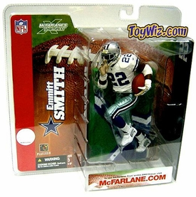 McFarlane Toys NFL Sports Picks Series 6 Action Figure Emmitt Smith (Dallas Cowboys) Retro Variant