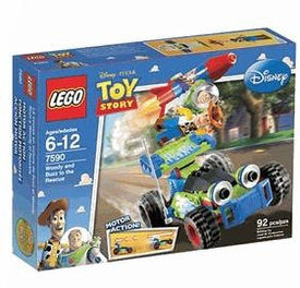 LEGO Disney Toy Story Set #7590 Woody & Buzz To The Rescue