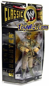 WWE Jakks Pacific Wrestling Classic Superstars Series 2 Action Figure Sgt. Slaughter