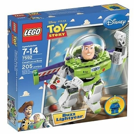 LEGO Disney Toy Story Set #7592 Construct a Buzz