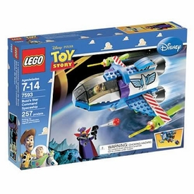 LEGO Disney Toy Story Set #7593 Buzz's Star Command Spaceship