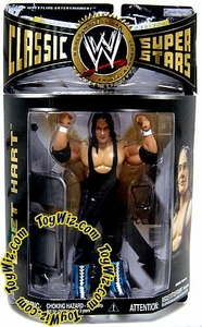 WWE Wrestling Classic Superstars Series 13 Action Figure Bret Hart