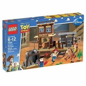 LEGO Disney Toy Story Set #7594 Woody's Roundup