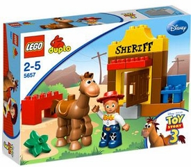 LEGO DUPLO Disney Toy Story 3 Set #5657 Jessie's Round Up