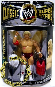 WWE Wrestling Classic Superstars Series 13 Action Figure Dusty Rhodes Damaged Package!