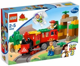 LEGO DUPLO Disney Toy Story 3 Set #5659 Great Train Chase