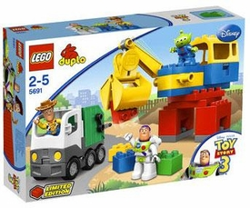 LEGO DUPLO Disney Toy Story 3 Set #5691 Alien Space Crane