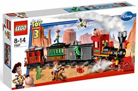 LEGO Disney Toy Story 3 Set #7597 Western Train Chase