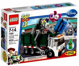 LEGO Disney Toy Story 3 Exclusive Set #7599 Garbage Truck Getaway