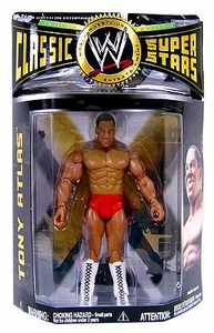 WWE Wrestling Classic Superstars Series 20 Action Figure Tony Atlas