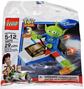 LEGO Disney Toy Story Exclusive Set #30070 Green Alien with Space Vehicle [Bagged]