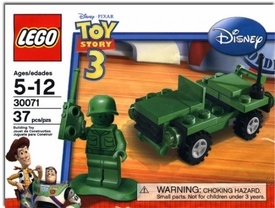 LEGO Disney Toy Story Set #30071 Army Jeep with Soldier [Bagged]