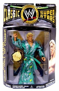 WWE Wrestling Classic Superstars Series 20 Action Figure Ric Flair Damaged Package, Mint Contents!