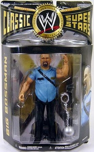 WWE Wrestling Classic Superstars Series 23 Action Figure Big Bossman [Blue Attire]