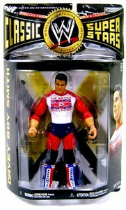 WWE Wrestling Classic Superstars Series 24 Action Figure Davey Boy Smith [British Bulldogs]