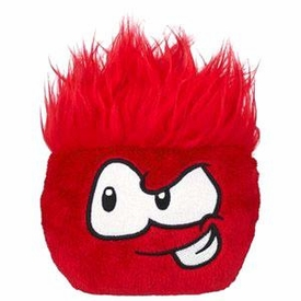 Disney Club Penguin 4 Inch Series 8 Plush Puffle Red [Includes Coin with Code!]