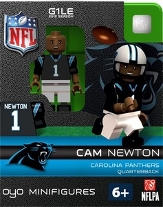OYO Football NFL Building Brick Minifigure Cam Newton [Carolina Panthers]