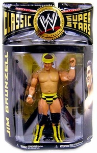 WWE Wrestling Classic Superstars Series 24 Action Figure Jim Brunzell
