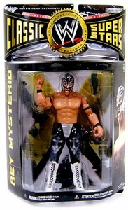 WWE Wrestling Classic Superstars Series 24 Action Figure Rey Mysterio BLOWOUT SALE!
