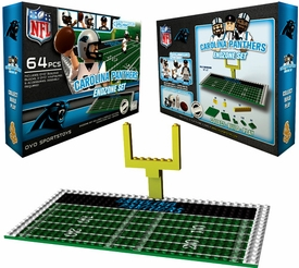 OYO Football NFL Generation 1 Team Field Endzone Set Carolina Panthers Pre-Order ships March