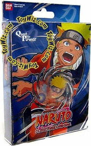 Naruto Card Game Quest for Power Theme Deck Naruto [Blue]