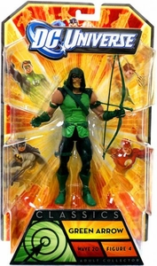 DC Universe Classics Series 20 Action Figure Green Arrow {Hooded} [Build Nekron Figure]