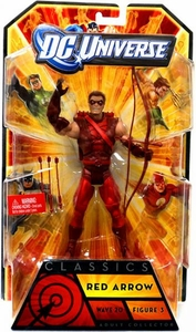 DC Universe Classics Series 20 Action Figure Red Arrow [Build Nekron Figure]