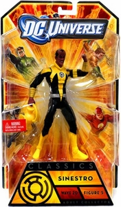 DC Universe Classics Series 20 Action Figure Sinestro {Corps. Uniform} [Build Nekron Figure]