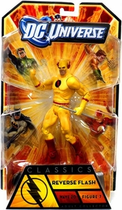 DC Universe Classics Series 20 Action Figure Reverse Flash [Build Nekron Figure]