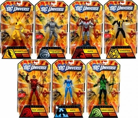 DC Universe Classics Series 20 Set of 7 Action Figures [Build Nekron Figure]