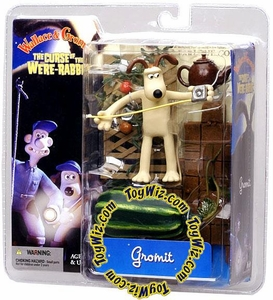 McFarlane Toys Wallace and Gromit Action Figure Gromit with Tape Measure