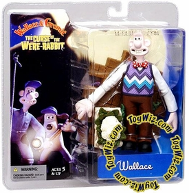 McFarlane Toys Wallace and Gromit Action Figure Wallace with Bowtie