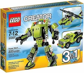 LEGO Creator Set #31007 Power Mech