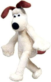 McFarlane Toys Wallace and Gromit MINI Plush Bean Doll Figure Gromit (No Boots) Hard to Find!