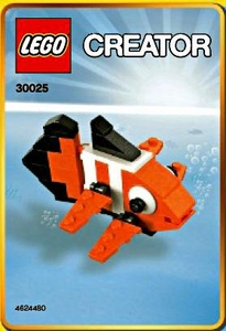 LEGO Creator Mini Figure Set #30025 Clown Fish [Bagged]