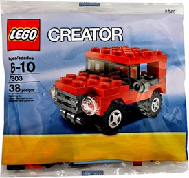 LEGO Creator Mini Figure Set #7803 Red Jeep [Bagged]
