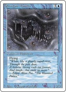 Magic the Gathering Revised Edition Single Card Uncommon Phantom Monster