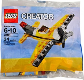 LEGO Creator Set #7808 Yellow Prop Plane [Bagged]