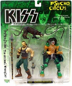 McFarlane Toys KISS Psycho Circus Action Figure 2-Pack Peter Criss & The Animal Wrangler [King of Beasts]