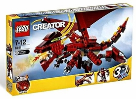 LEGO Creator Set #6751 Fiery Legend