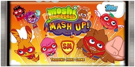 Topps Moshi Monsters Trading Card Game UK Version Series 2 Mash Up! Booster Pack