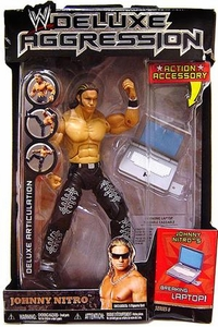 WWE Jakks Pacific Wrestling DELUXE Aggression Series 8 Action Figure Johnny Nitro [John Morrison]
