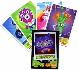 Topps Moshi Monsters Trading Card Game Lot of 5 RANDOM Cards [Includes 1 FOIL Card!]
