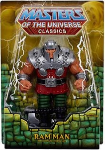 He-Man Masters of the Universe Classics Exclusive Deluxe Action Figure Ram Man