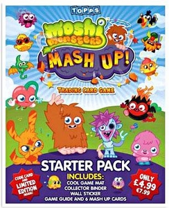 Topps Moshi Monsters Trading Card Game Mash Up! Starter Pack [Includes Game Mat, Binder, Guide & 6 Cards!]