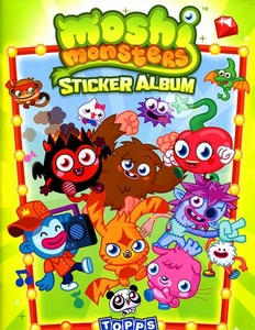 Topps Moshi Monsters Series 1 Sticker Album